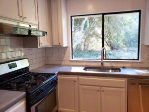 Bright remodeled kitchen